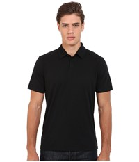 Rvca Sure Thing Ii Polo Black Men's Short Sleeve Knit