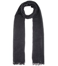 Etoile Isabel Marant Zali Wool And Cashmere Scarf Multicoloured