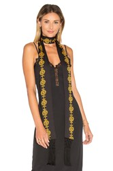 House Of Harlow X Revolve Ossie Scarf Black