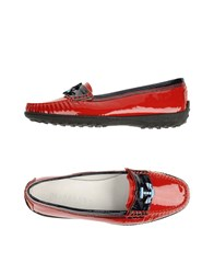 Dibrera By Paolo Zanoli Footwear Moccasins Women Red