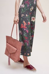 Anthropologie Maj Clutch Tote Bag Peach