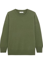 Equipment Melanie Cashmere Sweater Army Green