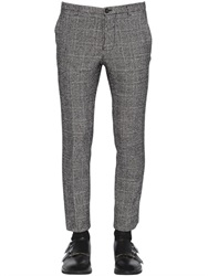 Christian Pellizzari 17.5Cm Cotton And Wool Sharkskin Pants