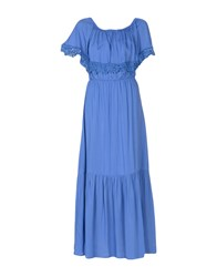 Care Of You Long Dresses Azure
