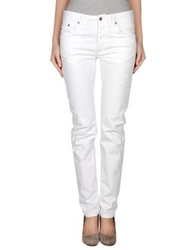 Heavy Project Denim Pants White