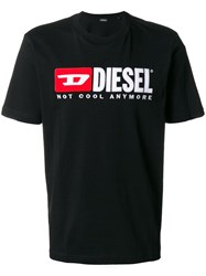 Diesel 'Not Cool Anymore' T Shirt Black