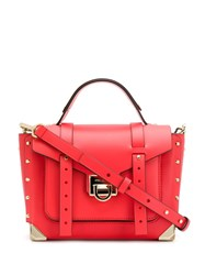 Michael Michael Kors Manhattan Medium Satchel Red