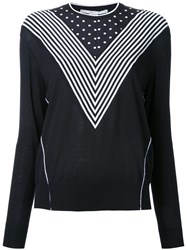 Stella Mccartney Crew Neck Jumper Black