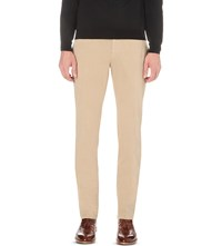Slowear Slim Fit Stretch Cotton Chinos Beige