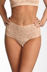 Women's Hanky Panky 'Retro' Thong White Chai