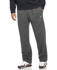 Nike Pants Classic Fleece Cargos Charcoal Heather