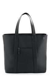 Vessel Men's 'Signature' Leather Tote Bag Black Pebbled Black