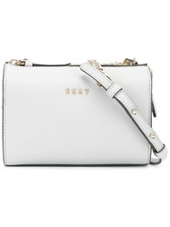 Dkny Chain Strap Crossbody Bag Grey