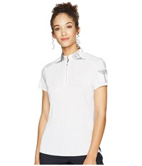 Jamie Sadock Crunchy Short Sleeve Top Sugar White Clothing