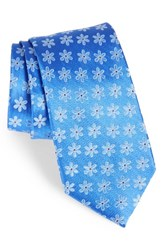 Nordstrom Men's Small Margarita Flower Silk Tie