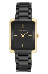 Anne Klein 'S Rectangle Ceramic Bracelet Watch 28Mm X 35Mm
