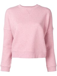 Ymc Almost Grown Sweatshirt Pink