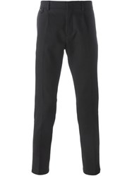 Paolo Pecora Classic Tailored Trousers Blue