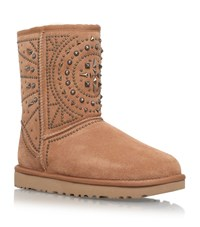 Ugg Fiore Ankle Boots Female Brown