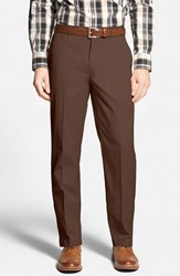 Men's Big And Tall Bobby Jones Stretch Cotton Pants Brown