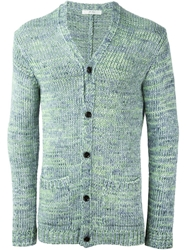 Julien David Knit Cardigan Green