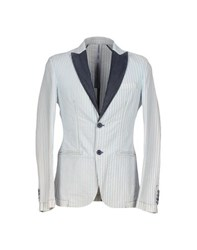 Hamaki Ho Suits And Jackets Blazers Men Sky Blue