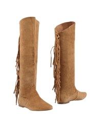 Belle By Sigerson Morrison Boots Camel