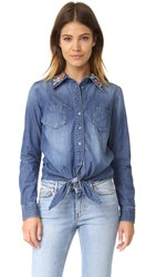 Driftwood Charlotte Shirt Medium Chambray
