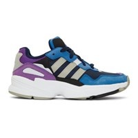 Adidas Originals Navy And Blue Yung 96 Sneakers
