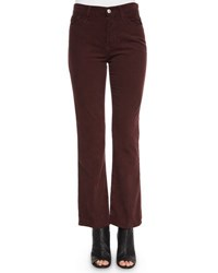 Ag Jeans Revolution Boot Cut Velvet Pants Sulfur Fig