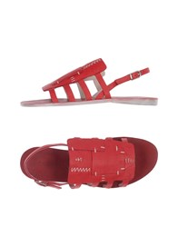Henry Beguelin Sandals Red