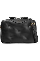 Anya Hindmarch Chubby Leather Shoulder Bag Black