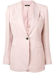 Tom Ford Classic Fitted Blazer Pink
