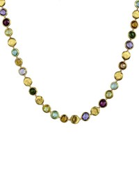 Marco Bicego Jaipur Mixed Stone Link Necklace 19 L