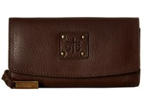 Sts Ranchwear The Cassie Joh Trifold Wallet Chocolate Wallet Handbags Brown