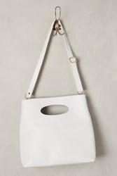 Anthropologie Alys Tall Tote Light Grey