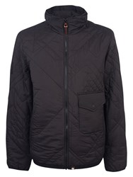 Pretty Green Kirby Quilted Jacket Black