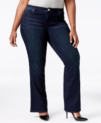 Inc International Concepts Plus Size Pheonix Wash Bootcut Jeans Only At Macy's