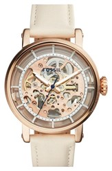 Women's Fossil 'Original Boyfriend' Skeleton Chronograph Watch 38Mm