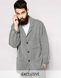 Reclaimed Vintage Oversized Blazer In 90S Style Grey