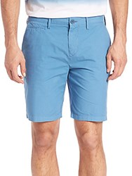 Burberry Lightweight Chino Shorts Lupin Blue