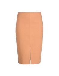Wolford Knee Length Skirts Camel