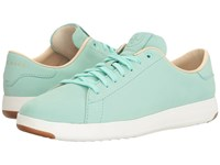 Cole Haan Grandpro Tennis Beach Glass Nubuck Women's Lace Up Casual Shoes Blue