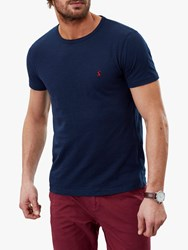 Joules Denton Solid Crew Neck T Shirt French Navy