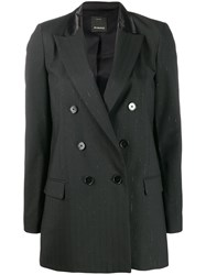 Pinko Double Breasted Blazer Black