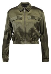 Dorothy Perkins Bomber Jacket Green
