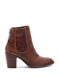 Matisse Mack Classic City Leather Ankle Booties Brown