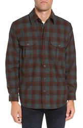 Filson Men's 'Northwest' Wool Plaid Flannel Shirt