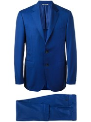 Canali Formal Two Piece Suit Blue