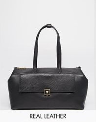 Modalu Parker East West Tote Bag Black